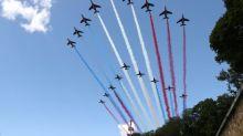 14-Juillet: le survol de la Patrouille de France interdit à Lyon