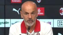 """Milan, Pioli: """"Sul 2-0 abbiamo smesso di giocare. Lamentele sui cambi? I big vogliono fare gol"""""""