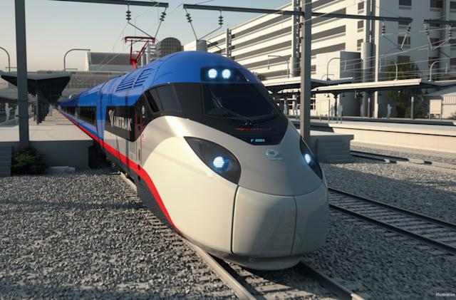 Amtrak's next-generation high-speed trains arrive in 2021