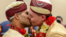 Gay man thought to become first Muslim to have UK same-sex marriage