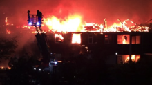 Residents evacuated as huge fire engulfs hospital in Surrey