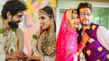 14 Celebrity Couples, Who Let Their Love Win Over COVID-19 And Got Married In The Pandemic