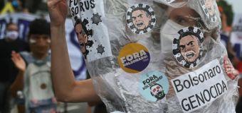 Anger as Brazil surpasses half million COVID deaths