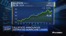 Allstate announces estimated hurricane losses