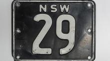 Number plate 'NSW 29' sells for $745,000