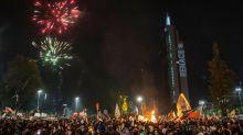 Plebiscito en Chile: las imágenes de la celebración del triunfo del Apruebo en el histórico referendo que le permitirá cambiar de Constitución