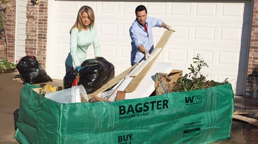 Need A Dumpster? Use Bagster, A Dumpster In A Bag.