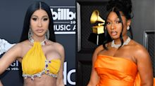 Cardi B and Megan Thee Stallion face criticism over 'inappropriate' and 'trashy' Grammy performance