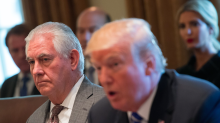 Donald Trump 'sacks secretary of state Rex Tillerson by tweet'
