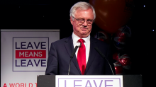 David Davis tells MPs to vote down Theresa May's Brexit deal so the EU makes a better offer