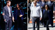 Is this Meghan Markle's go-to maternity outfit? Duchess recycles look for surprise appearance at WE Day