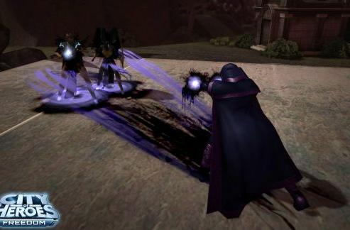 City of Heroes takes to the shadows with new Darkness Control info