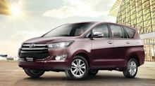 Toyota Innova Crysta (facelift) revealed in leaked images