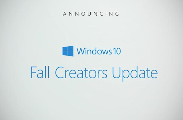 Windows 10 is getting another Creators Update this fall