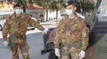 Aumento dei casi positivi: esercito in Sicilia