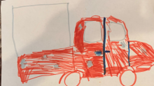9-year-old girl's 'very well drawn' picture of suspects' truck may help police catch porch pirates