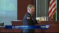 Lt. Murphy retires from Oak Creek Police Department