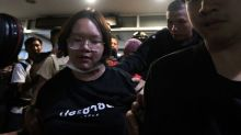 Three Thai protest leaders re-arrested, one carried from van