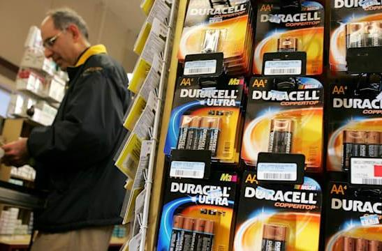 Procter & Gamble plans to spin-off Duracell