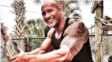 The Rock slammed for joke about wrestling a gator: 'You're better than this'