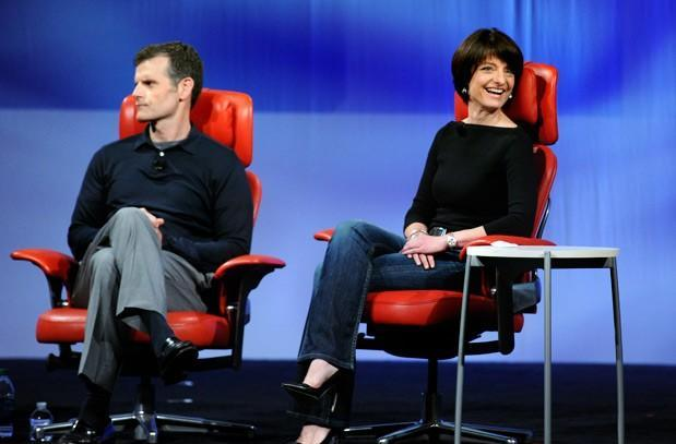 Motorola's Dennis Woodside and Regina Dugan: live from D11