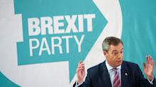 Brexit Party election candidate in Nigel Farage protest over Tory seat stand-down