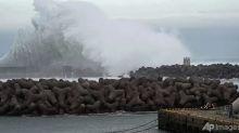 Heavy rain and winds as powerful typhoon hits Japan