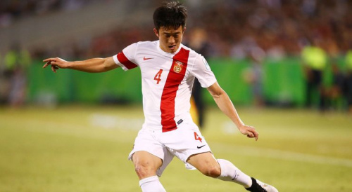 Jiang Zhipeng is under fire after his poor performance contributed to the end of China's World Cup hopes and his wife revealed his 'extra-marital affairs.'