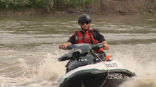 Police warn boaters of high water, driftwood on North Saskatchewan River