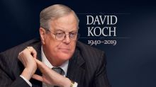 Billionaire businessman David Koch dies at 79
