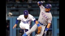 Rangers hammer Trevor Bauer, Dodgers 12-1