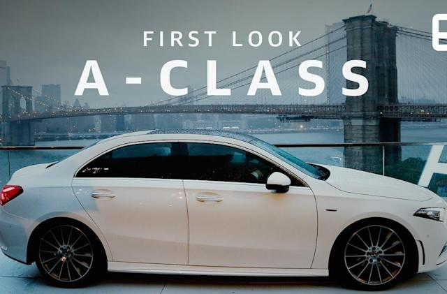 Mercedes' new, affordable A-Class sedan is as smart as it is sleek