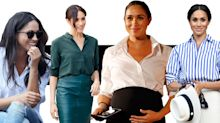 Why the Duchess of Sussex's signature shirt is the epitome of her laidback, polished style