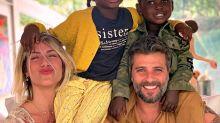 Conheça Bless, o filho de Giovanna Ewbank e Bruno Gagliasso