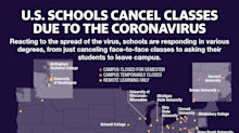 'It's surreal': U.S. schools and colleges close because of coronavirus, affecting millions of students