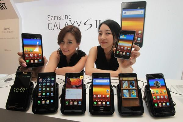 Samsung Galaxy S II begins quest for 120 country domination