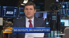 Faber Report: Big buyouts, big bankruptcies