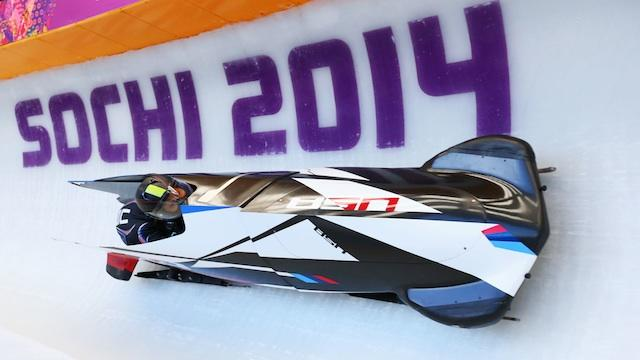 Jazmine Fenlator on her terrifying, first-ever bobsled run