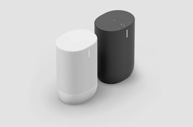 Sonos Move gets a battery life boost, now comes in white