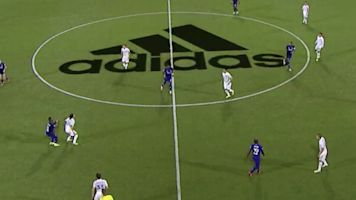 People did not like the logo on the MLS pitch