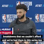 Nuggets using past playoff pain to battle Lakers in Conference finals