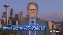 McClellan Analysis: Expect bull market run to continue until 2021