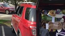 Volunteers Collect Donations for South Carolina Flooding Victims
