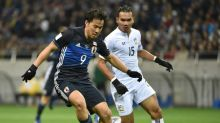 Okazaki fires 50th for Japan in 4-0 Thai rout