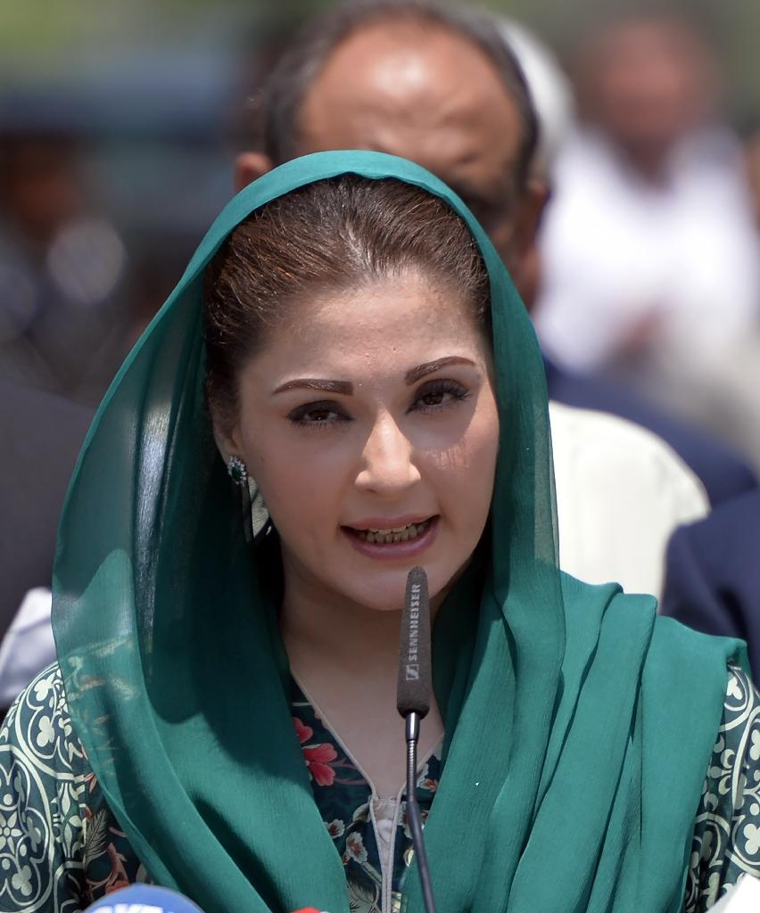 Documents created in the Calibri font were supposed to show the daughter of Pakistani Prime Minister Nawaz Sharif, Maryam Nawaz was a trustee only for several properties but the font was only widely available a year after the papers were typed (AFP Photo/AAMIR QURESHI)