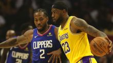 Plaschke: Get ready for glittering Lakers vs. growling Clippers in the Battle of L.A.