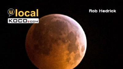 Lunar Eclipse Fills Night Sky