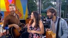 Catching up with Lady Antebellum live on 'GMA'