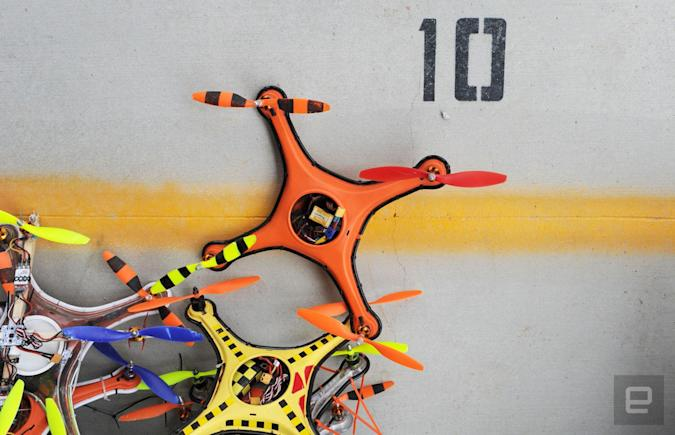 What goes down at a Vegas drone rodeo?