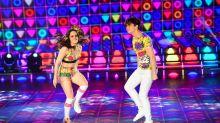 Así festejaron Julián Serrano y Sofi Morandi su paso a la final del 'Bailando'